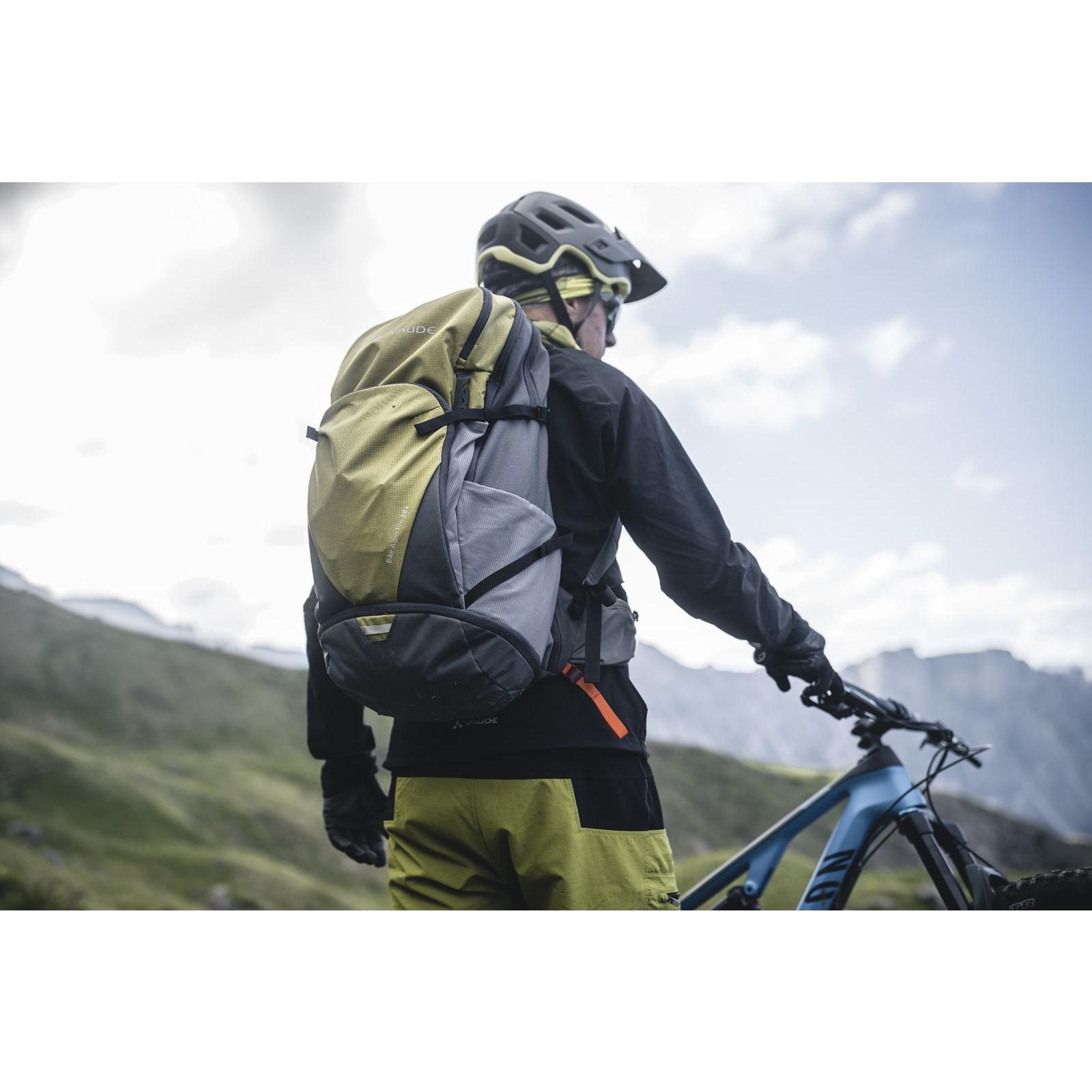 Bild von Vaude Bike Alpin Pro 28 + Rucksack - mars red