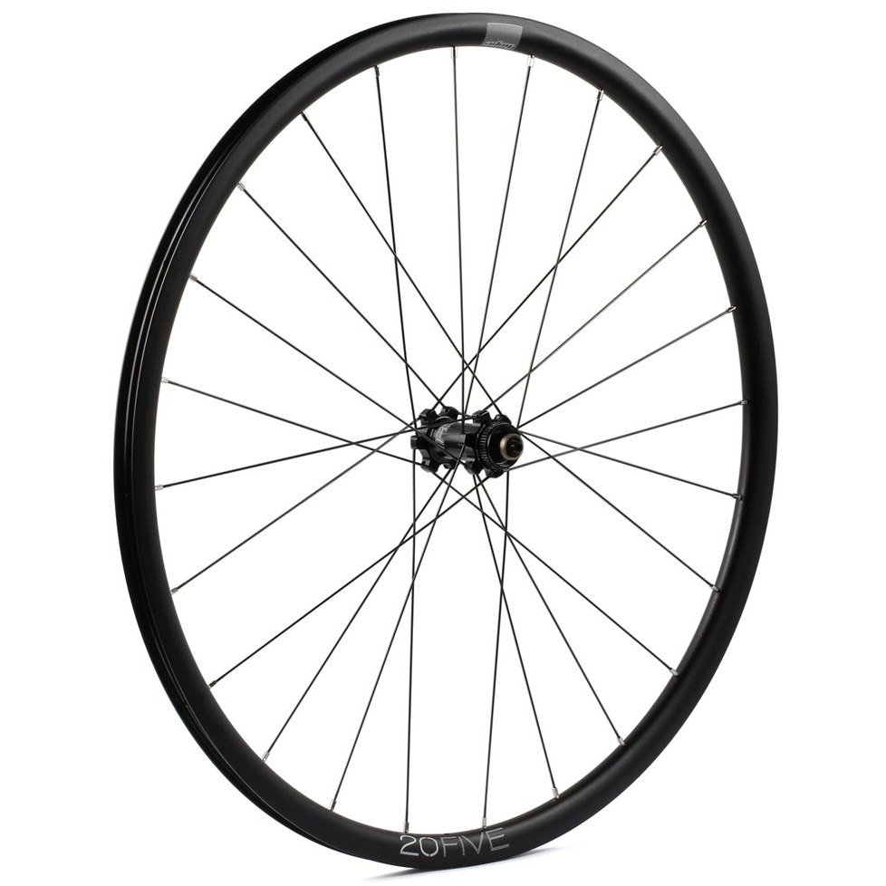 Image of Hope Hoops RS4 Straightpull - 20Five Road Front Wheel - 6 Bolt - 12x100mm/QR - black