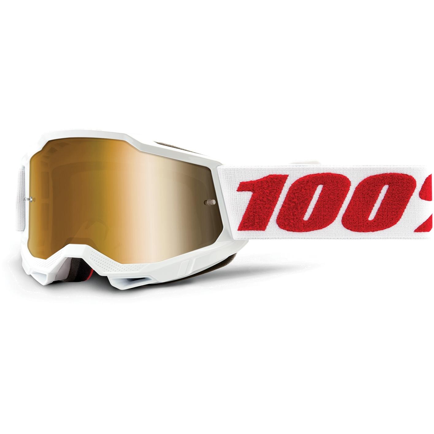 100% Accuri 2 Goggle Mirror Lens Gafas para niños - Denver - Gold Mirror
