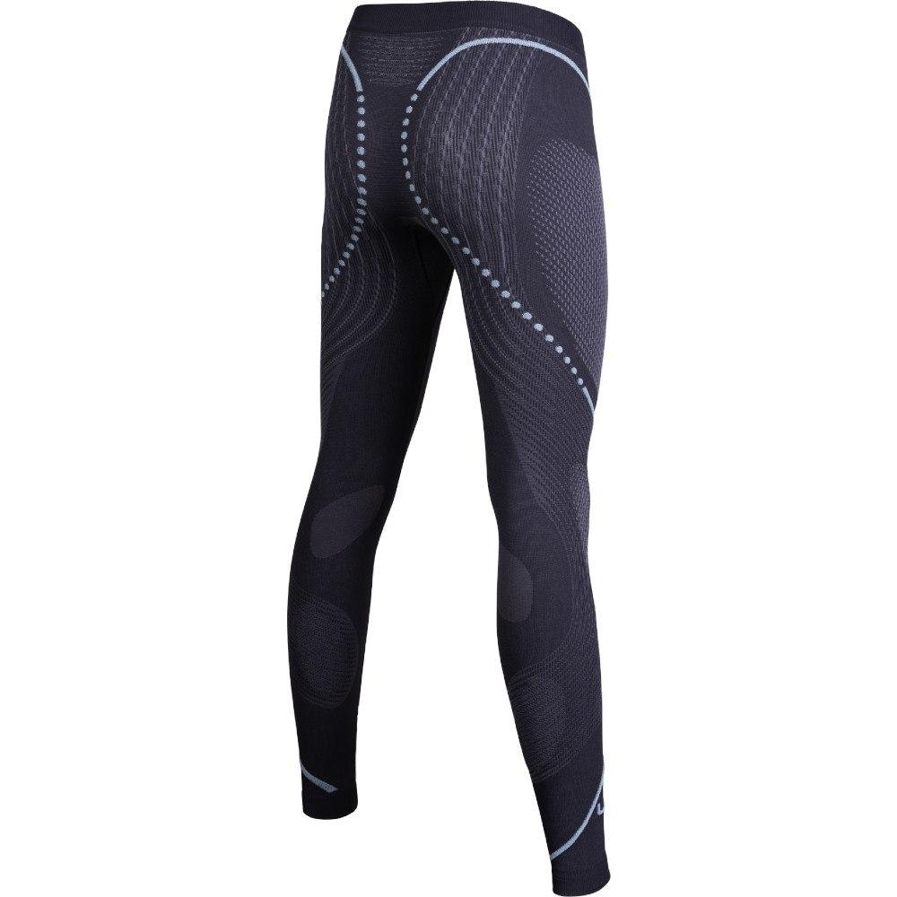 Bild von UYN Lady Evolutyon Pants Damen Unterhose lang - Charcoal/Anthracite/Aqua