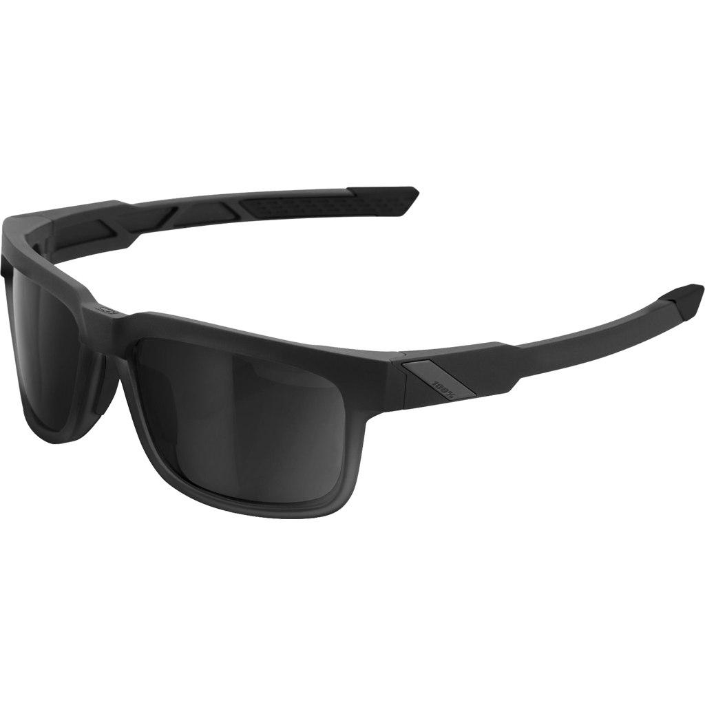 100% Type S Lens - Soft Tact Black/Smoke