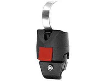 Bild von KLICKfix Miniadapter für Seilschlösser / Kabelschlösser am Rahmen 0501B