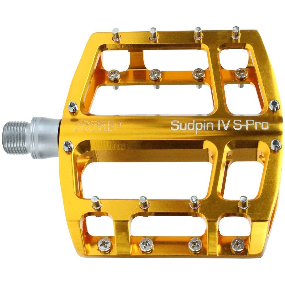 NC-17 Sudpin IV S-Pro Platform Pedal - gold