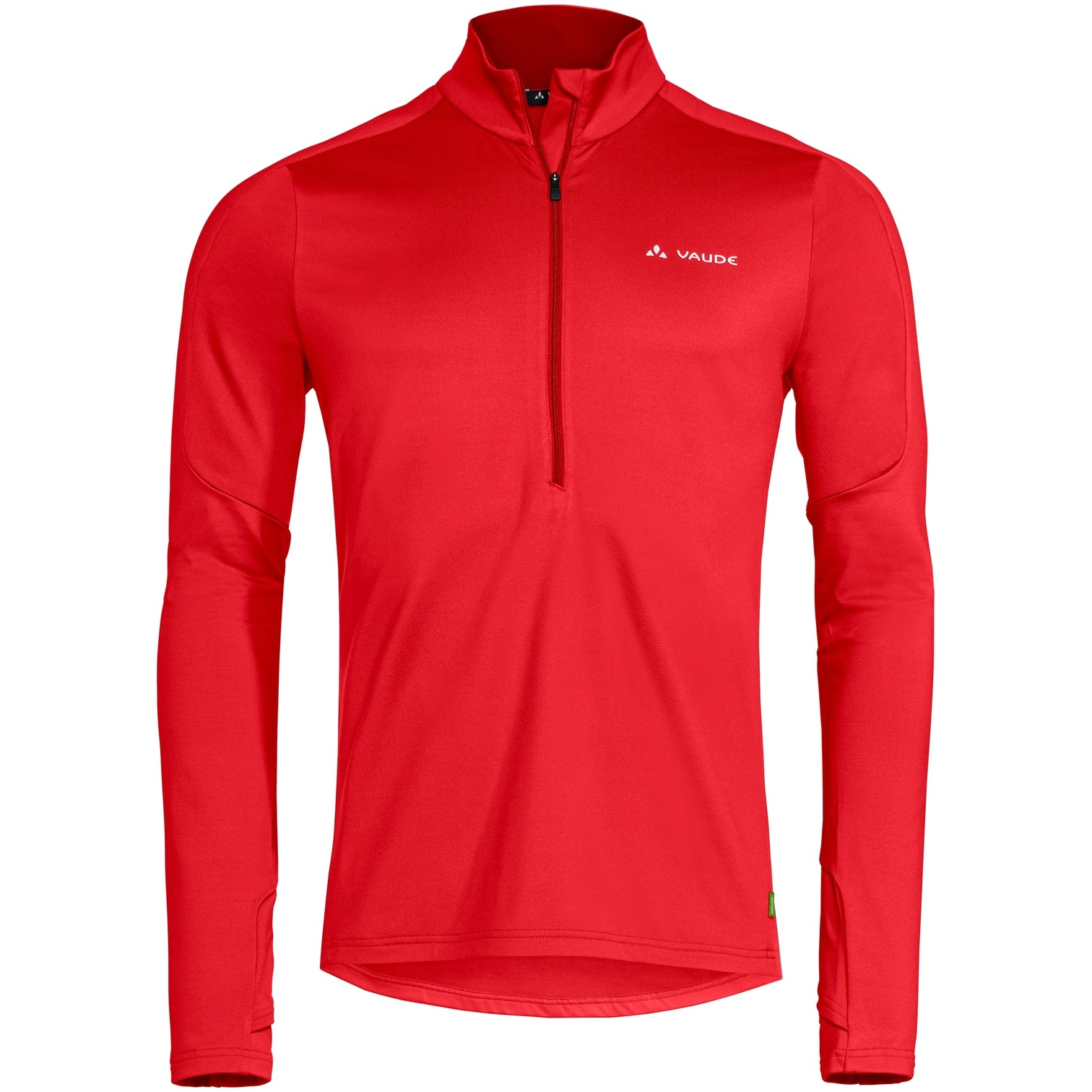 Vaude Livigno Halfzip II Pullover - mars red
