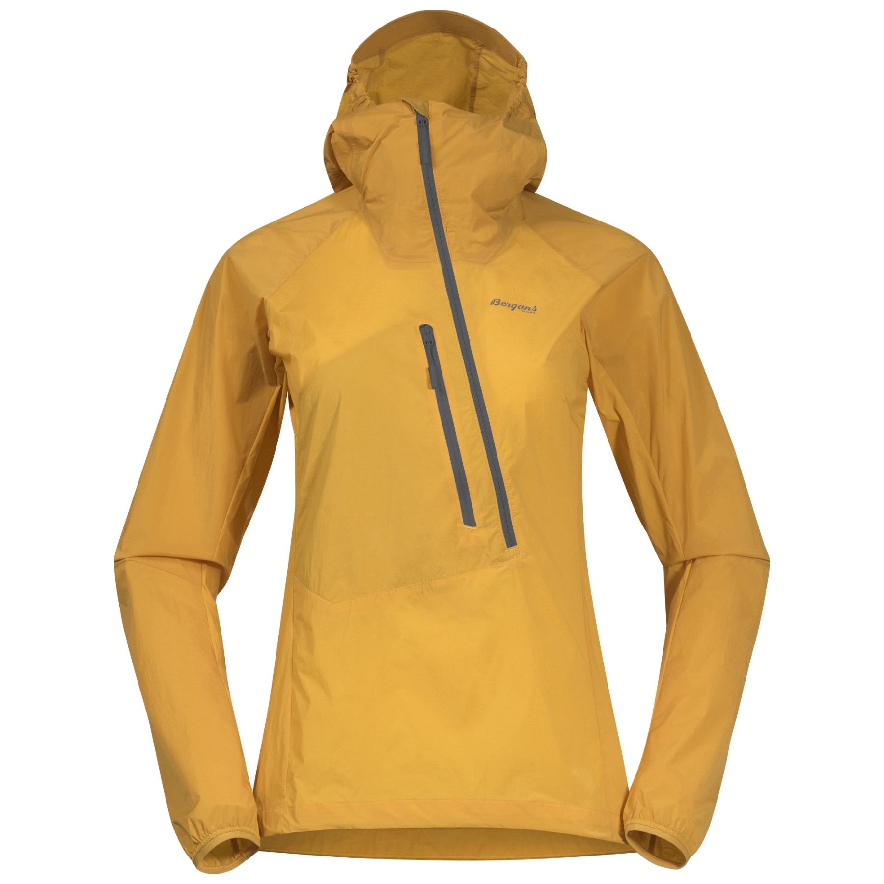Produktbild von Bergans Cecilie Light Wind Damen-Anorak - light golden yellow / golden yellow / solid dark grey