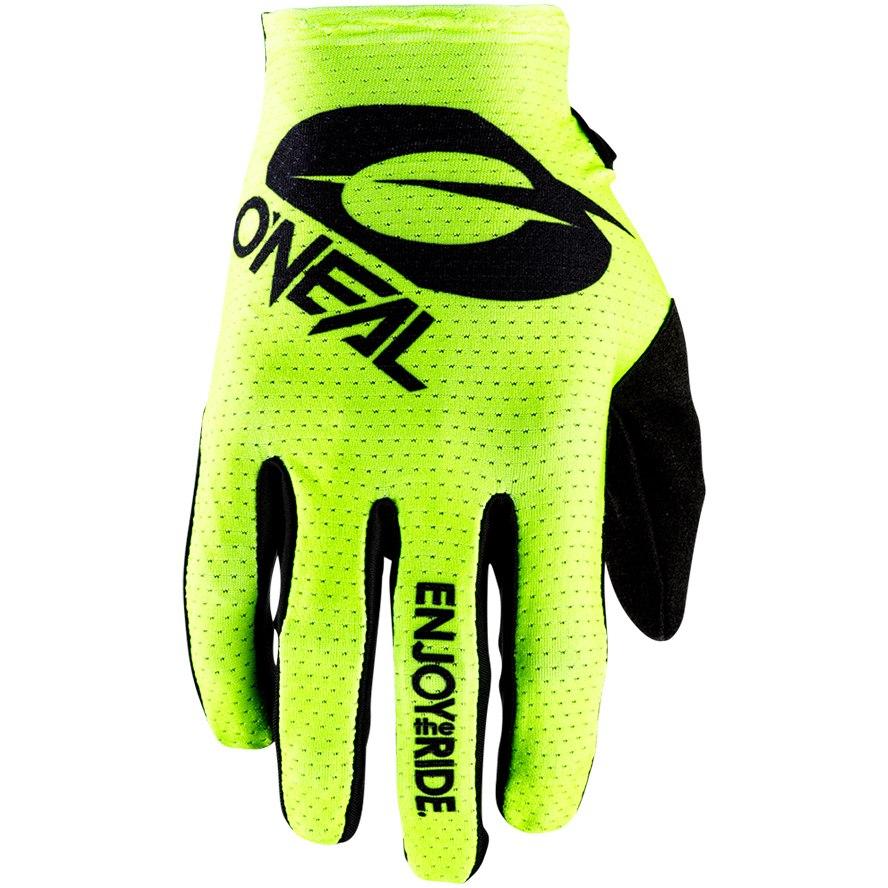 O'Neal Matrix Glove - STACKED neon yellow