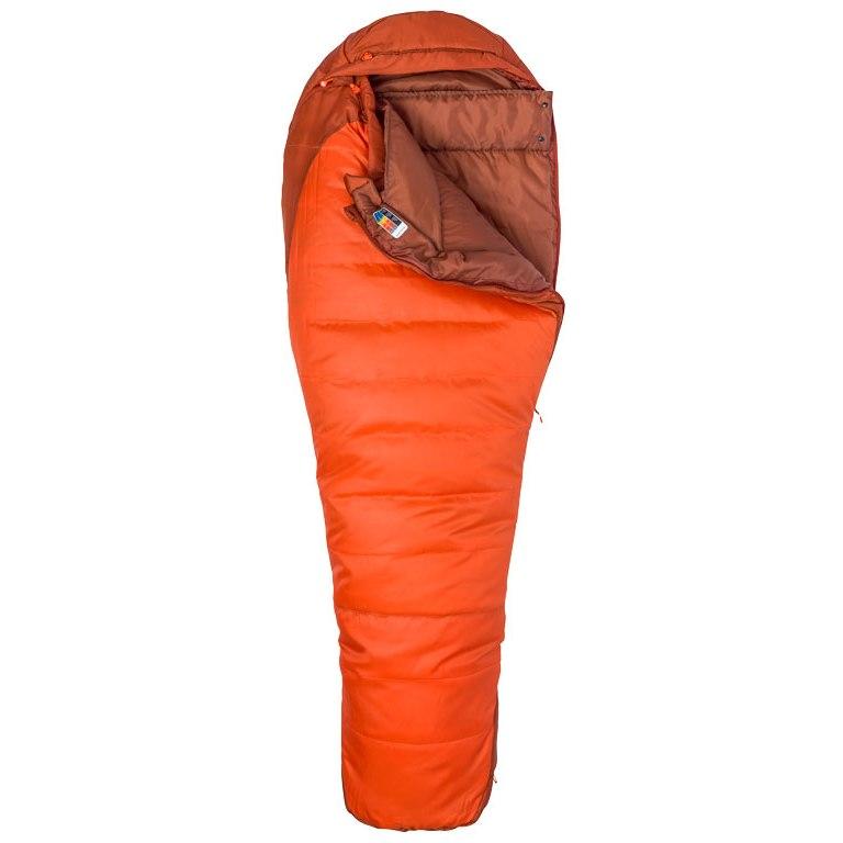 Foto de Marmot Trestles 0 Saco de dormir - orange haze/dark rust