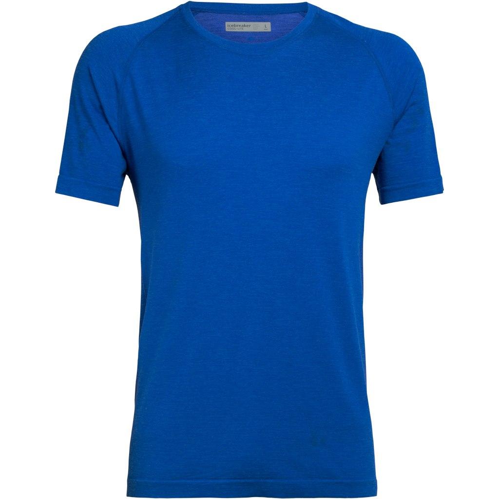 Bild von Icebreaker Motion Seamless Crewe Herren T-Shirt - Lapis HTHR