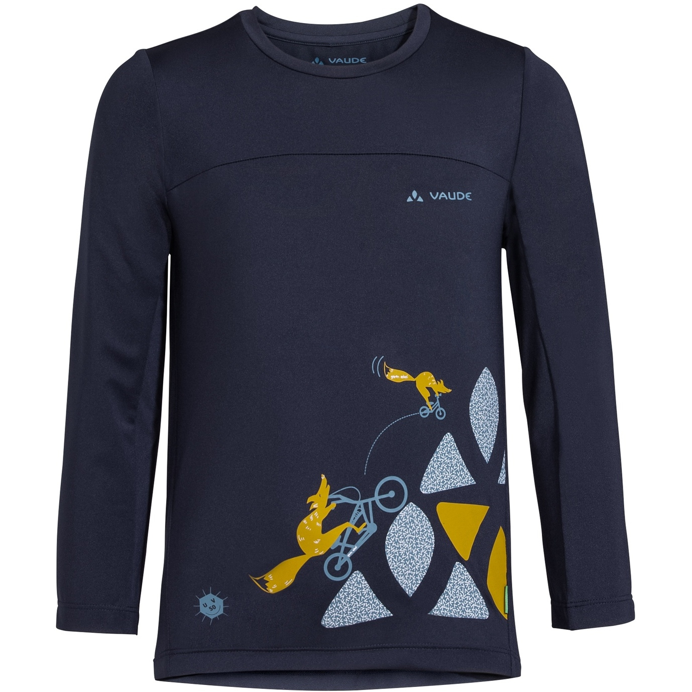 Vaude Kids Solaro LS T-Shirt II - eclipse