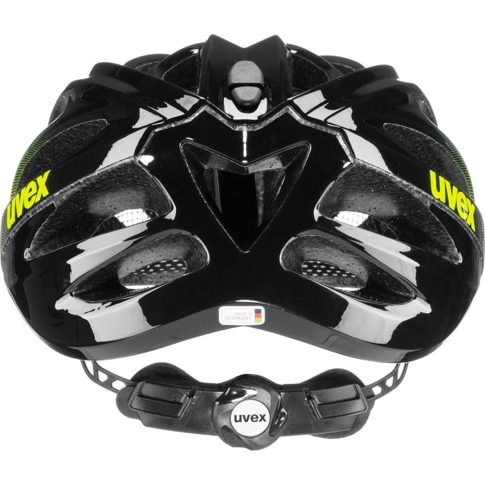 Bild von Uvex boss race Helm - black - lime