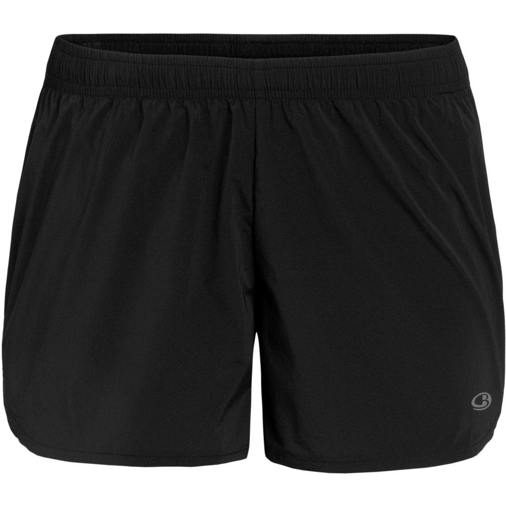Icebreaker Impulse Running Damen Shorts - Black