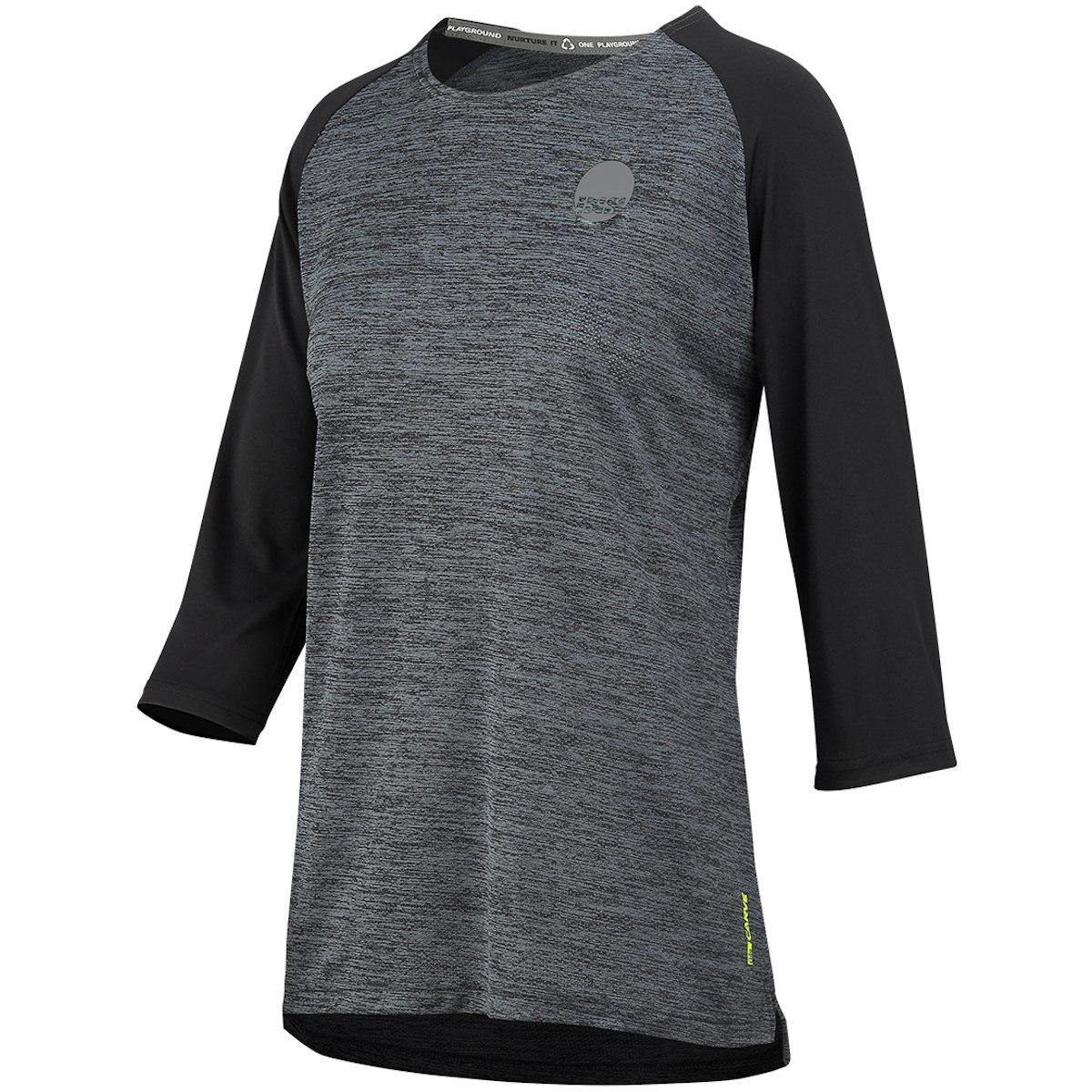 iXS Carve X Women Jersey 3/4 Sleeves - graphite/black