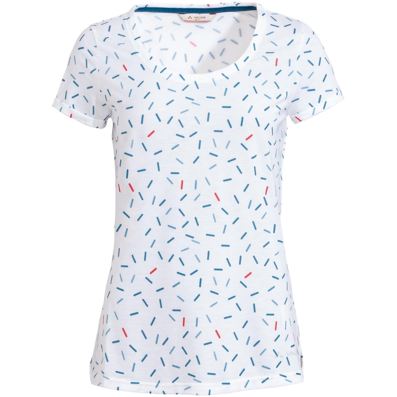 Bild von Vaude Skomer All Over Print T-Shirt Damen - white uni