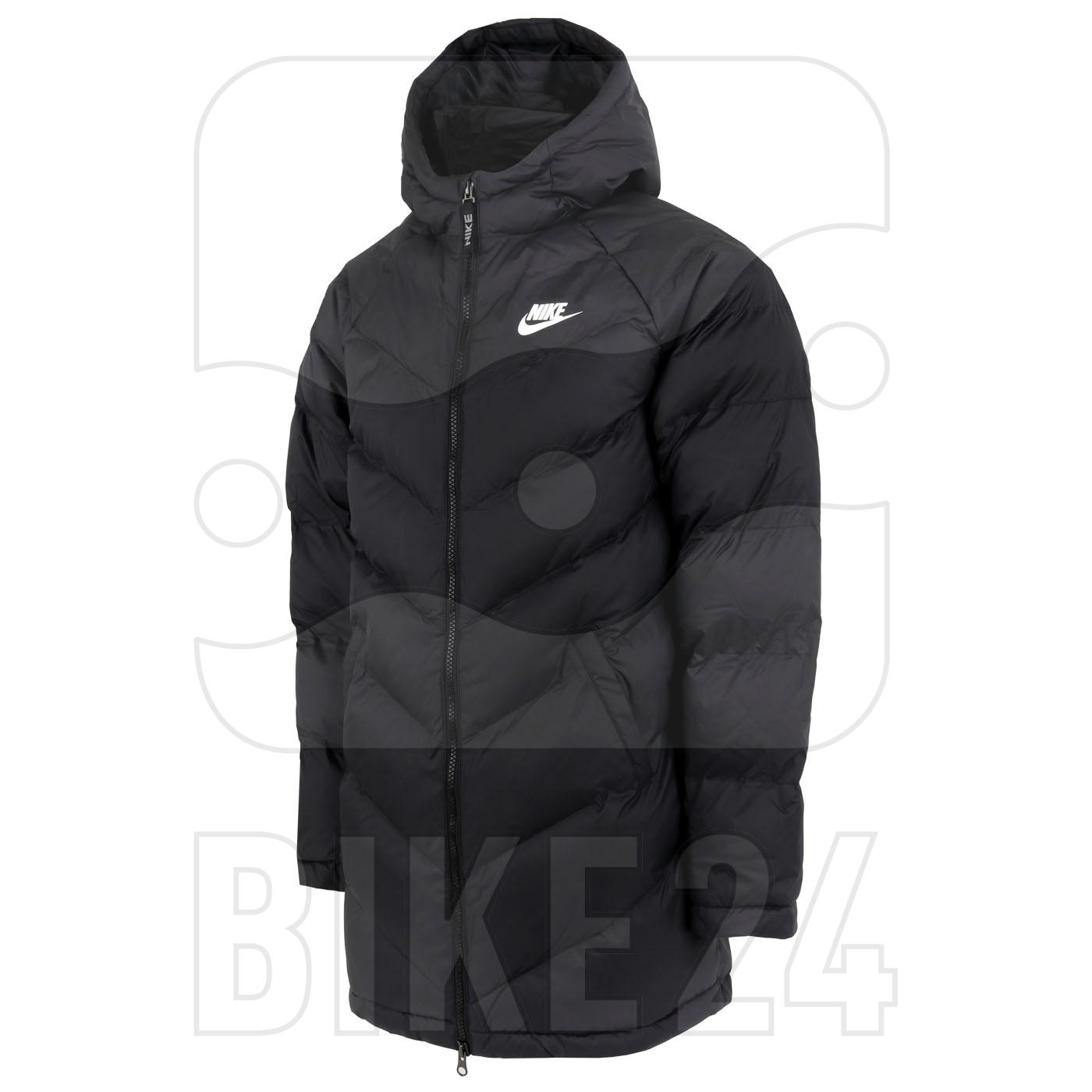Nike Sportswear Big Kids' Synthetic-Fill Jacket - black/black/black/white CZ4056-011