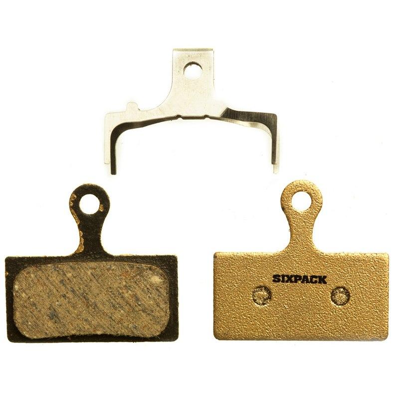 Sixpack Brake Pads for Shimano XTR, XT, SLX - semi-metallic
