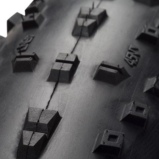 Imagen de 45NRTH Hüsker Dü Fatbike Folding Tire - Tubeless Ready - 26x4.0 Inch - 120TPI