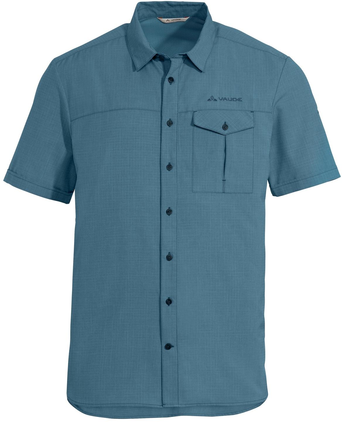 Vaude Rosemoor Hemd II - blue gray