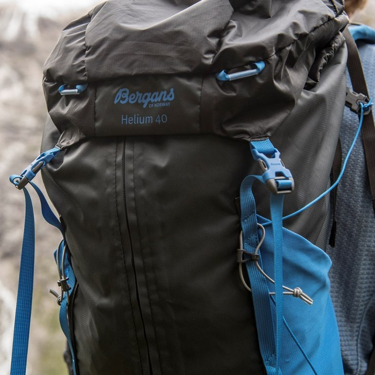 Image of Bergans Helium 40L Backpack - Solid Charcoal/Black