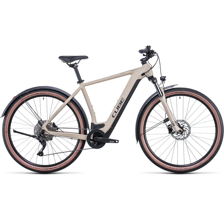 CUBE NURIDE HYBRID PRO 625 Allroad - Bicicleta Eléctrica - 2022 - desert/black A00
