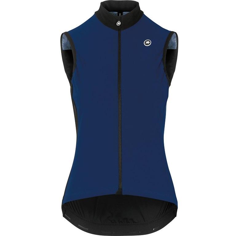 Image of Assos UMA GT Spring Fall Airblock Vest Women - caleumBlue