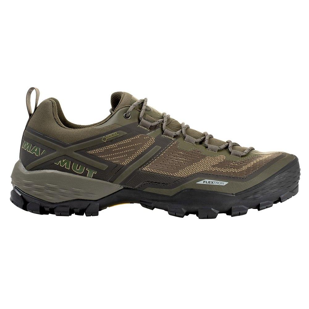 Mammut Ducan Low GTX Zapatillas de senderismo para hombres - olive-dark olive