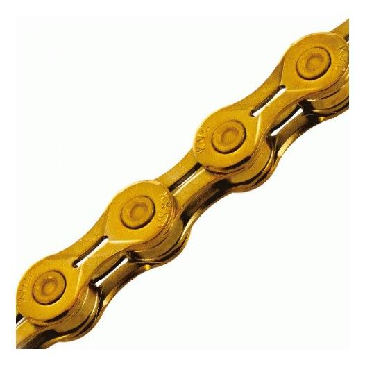 KMC X10EL Ti-N Chain - 10-speed - gold