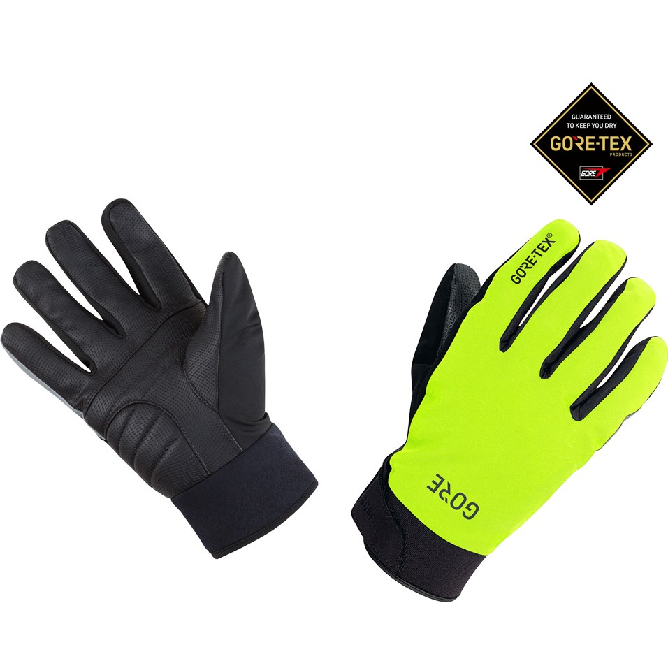 GORE Wear C5 GORE-TEX® Thermo Gloves - neon yellow/black 0899