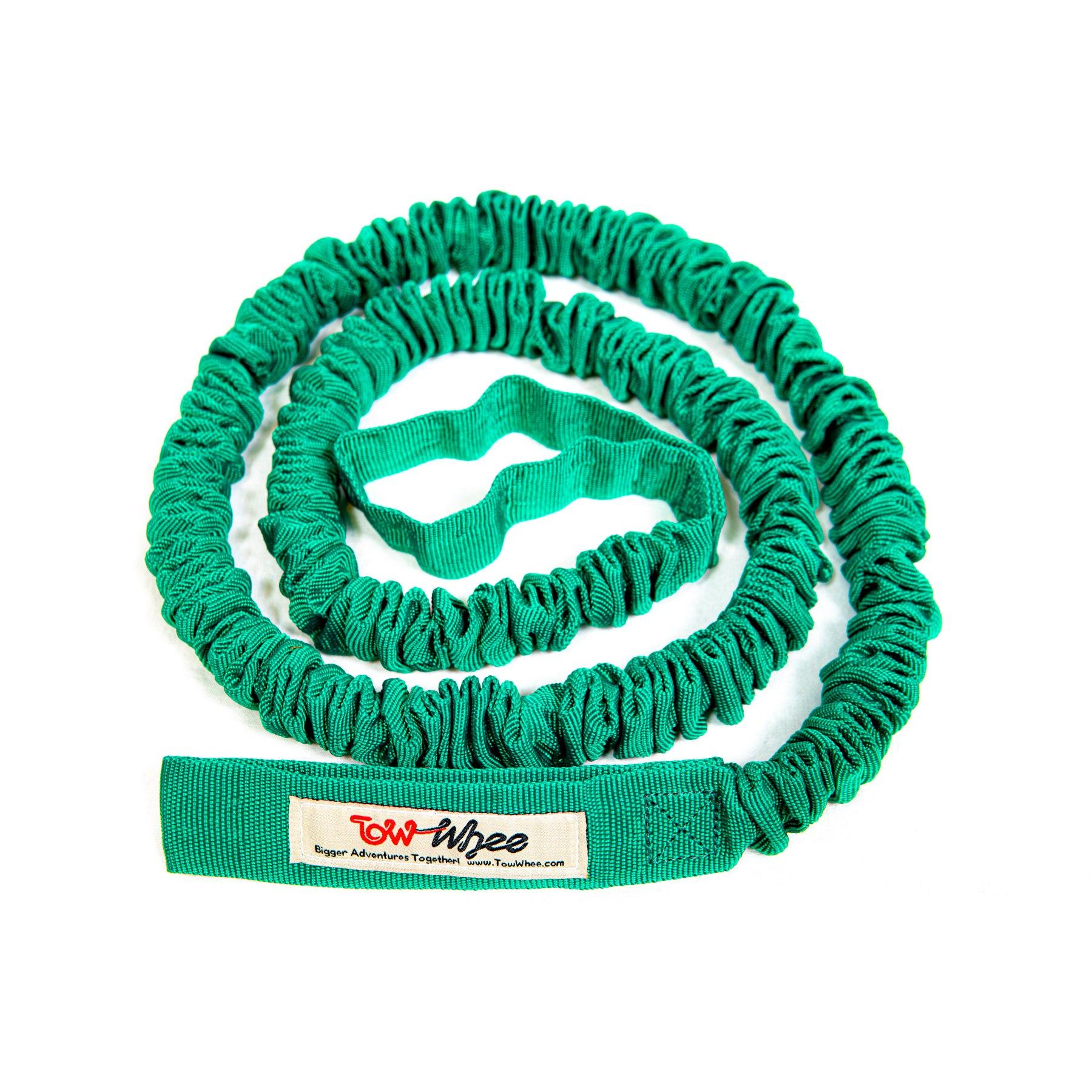 Produktbild von TowWhee Adult Abschleppseil für Fahrräder - grün