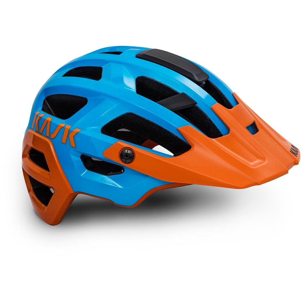 KASK Rex MTB Helm - Light Blue Orange