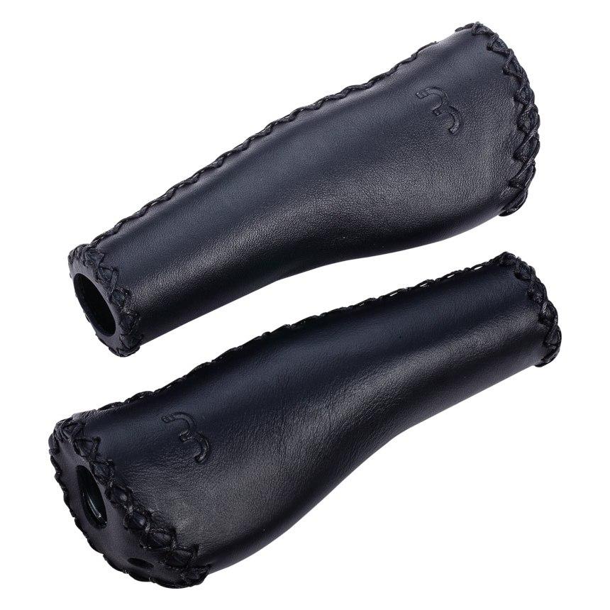 BBB Cycling LeatherFix BHG-16 Bar Grips - black