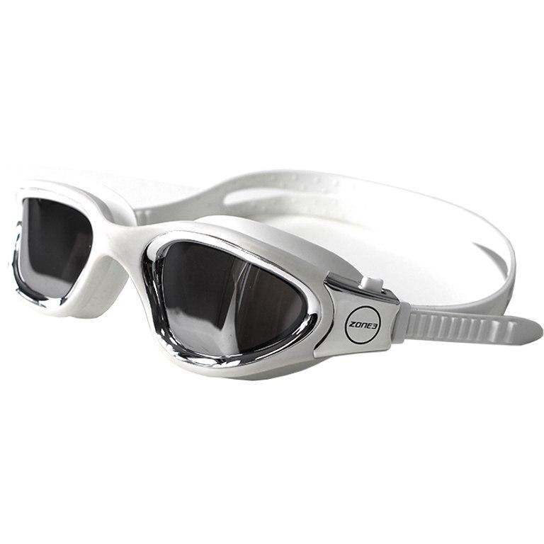 Zone3 Vapour Schwimmbrille - Polarized - white/silver