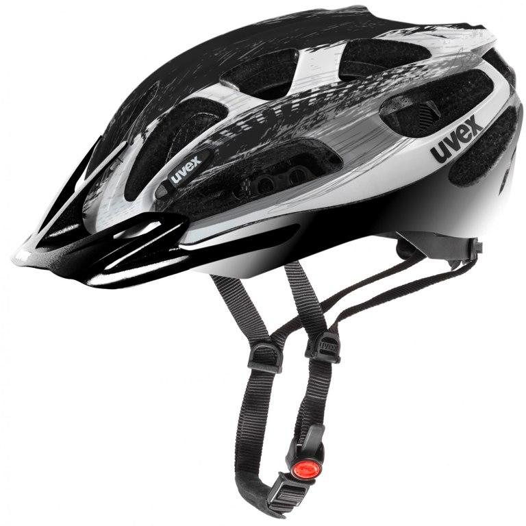Uvex supersonic Helm - silver-black