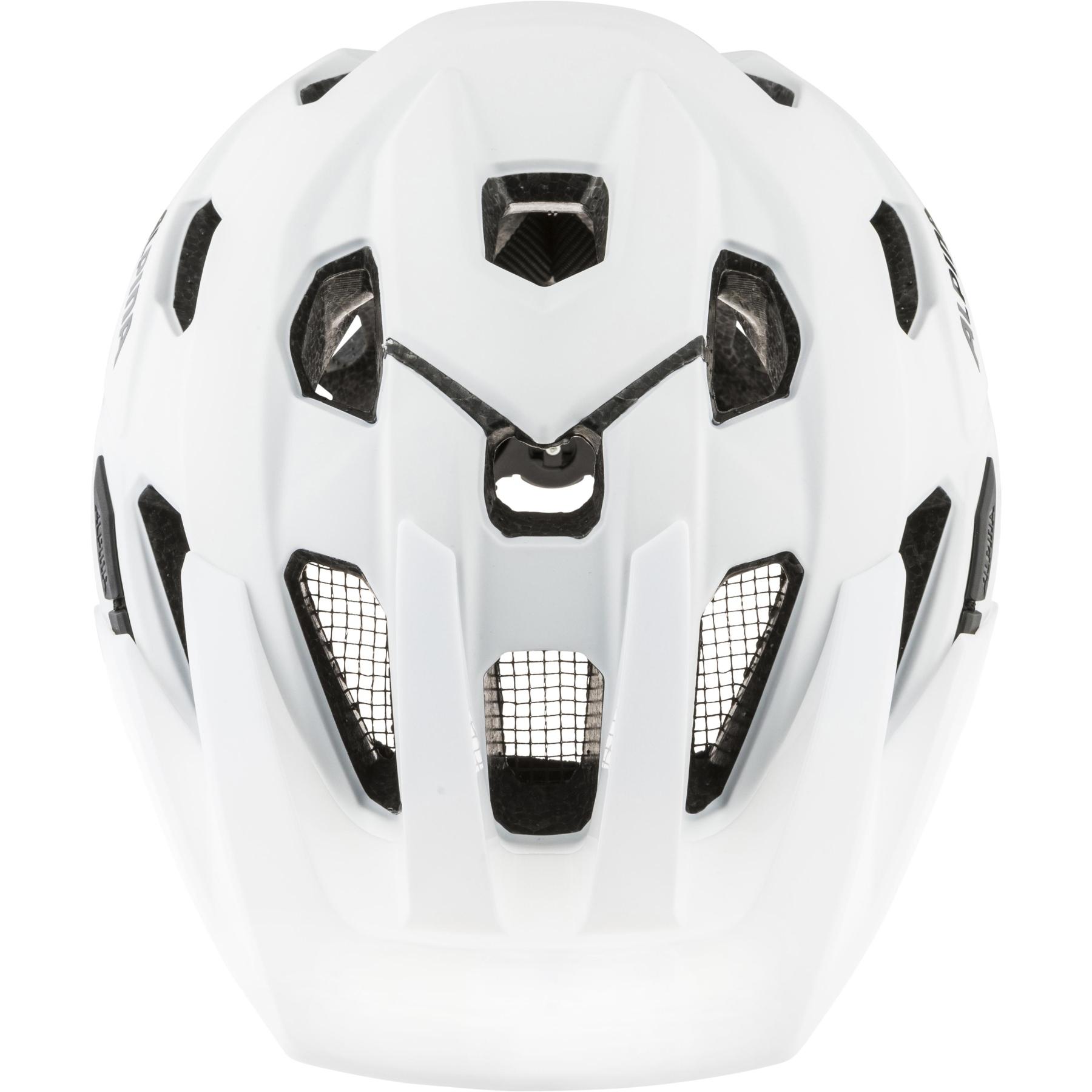 Image of Alpina Anzana Helmet - white matt