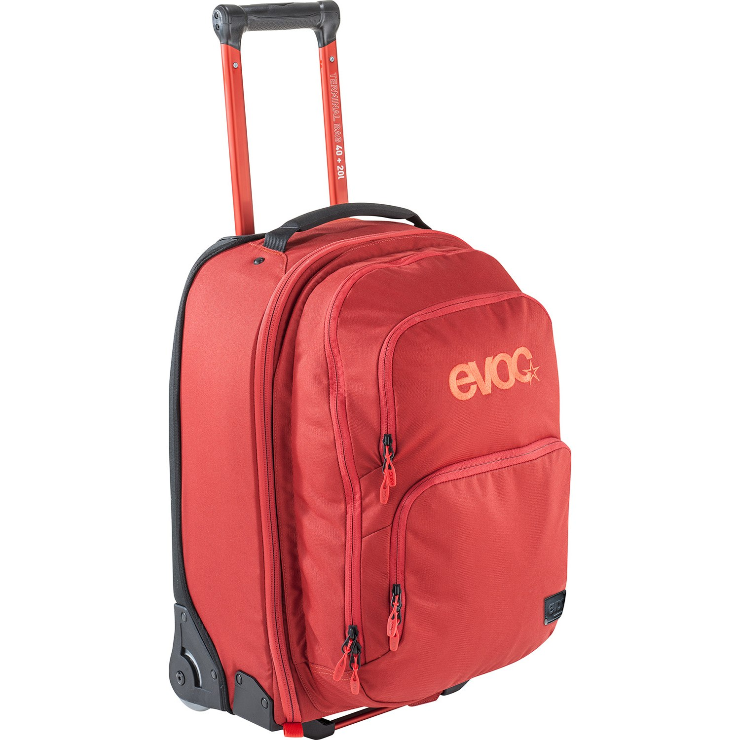 Picture of EVOC Terminal Bag 40L + 20L Trolley + Backpack - Chili Red