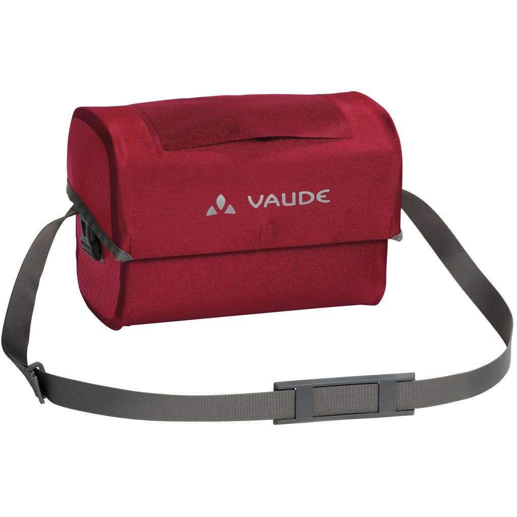 Vaude Aqua Box Handle Bar Bag - red
