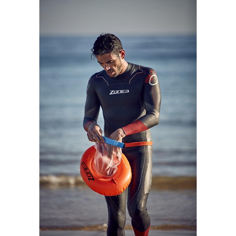 Bild von Zone3 Donut Swim Buoy Dry Bag - orange