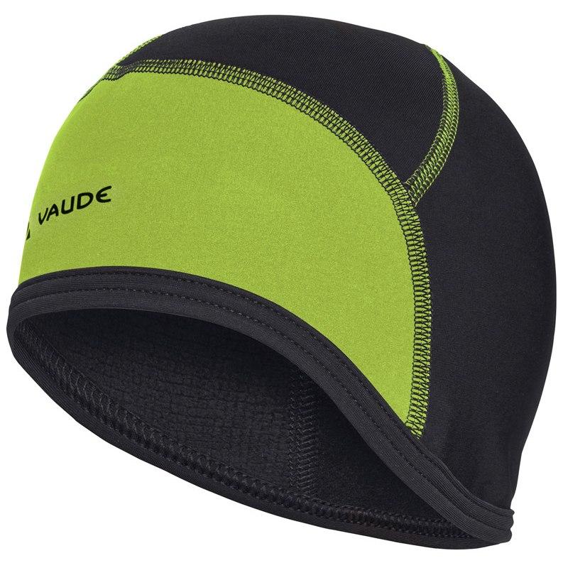 Vaude Bike Cap Unterhelm - schwarz/chute green
