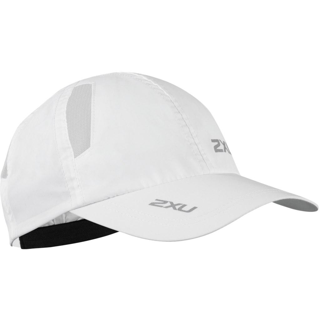 2XU Run Gorra - white/white