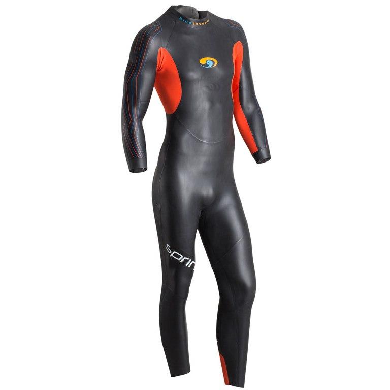 blueseventy Sprint Full Suit Wetsuit - black/red
