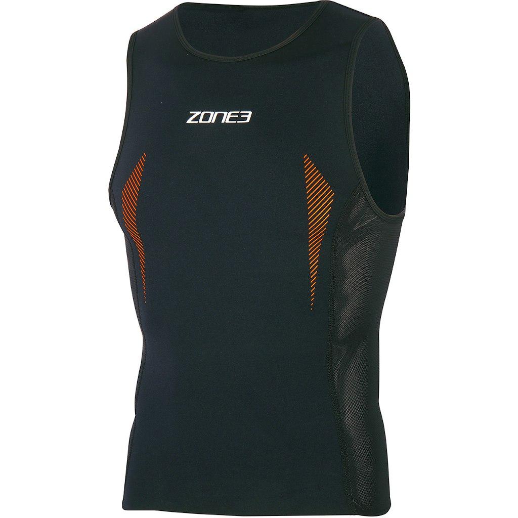 Zone3 Unisex SwimRun Top - black/orange