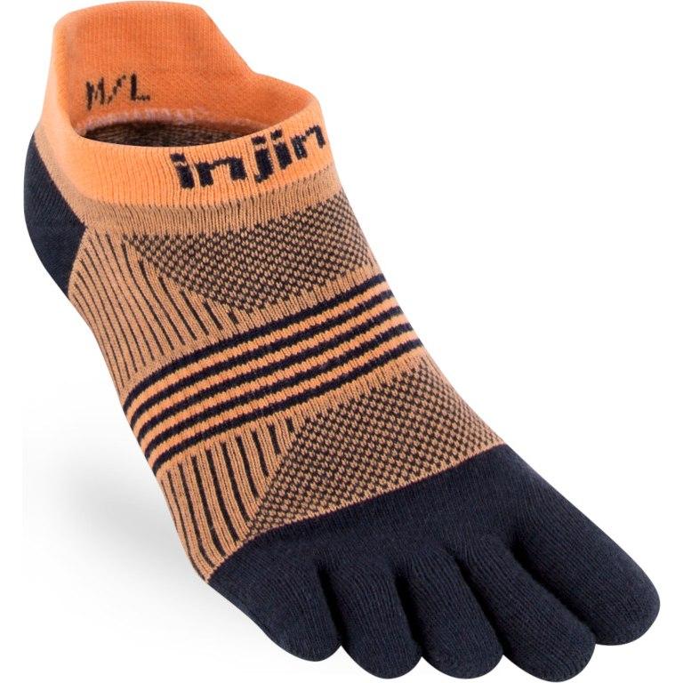 Produktbild von Injinji Women's Run Lightweight No-Show Socken - Underwater