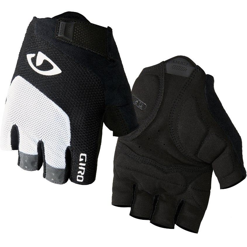 Giro Bravo Gel Handschuhe - white/black