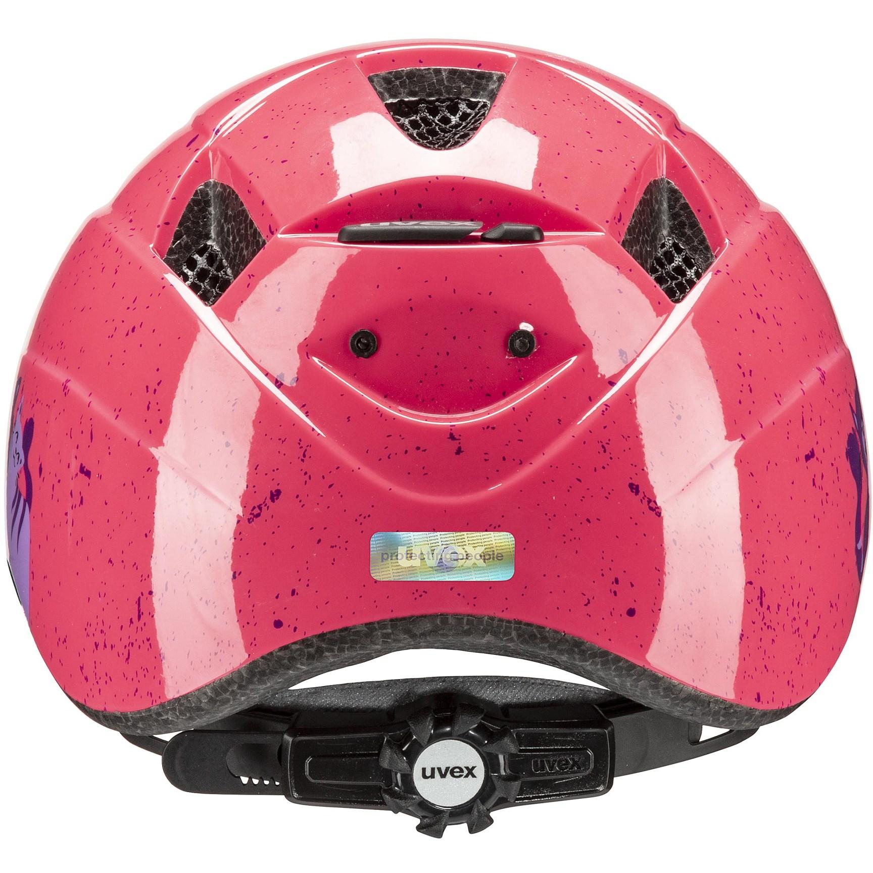Image of Uvex kid 2 Kids Helmet - cats