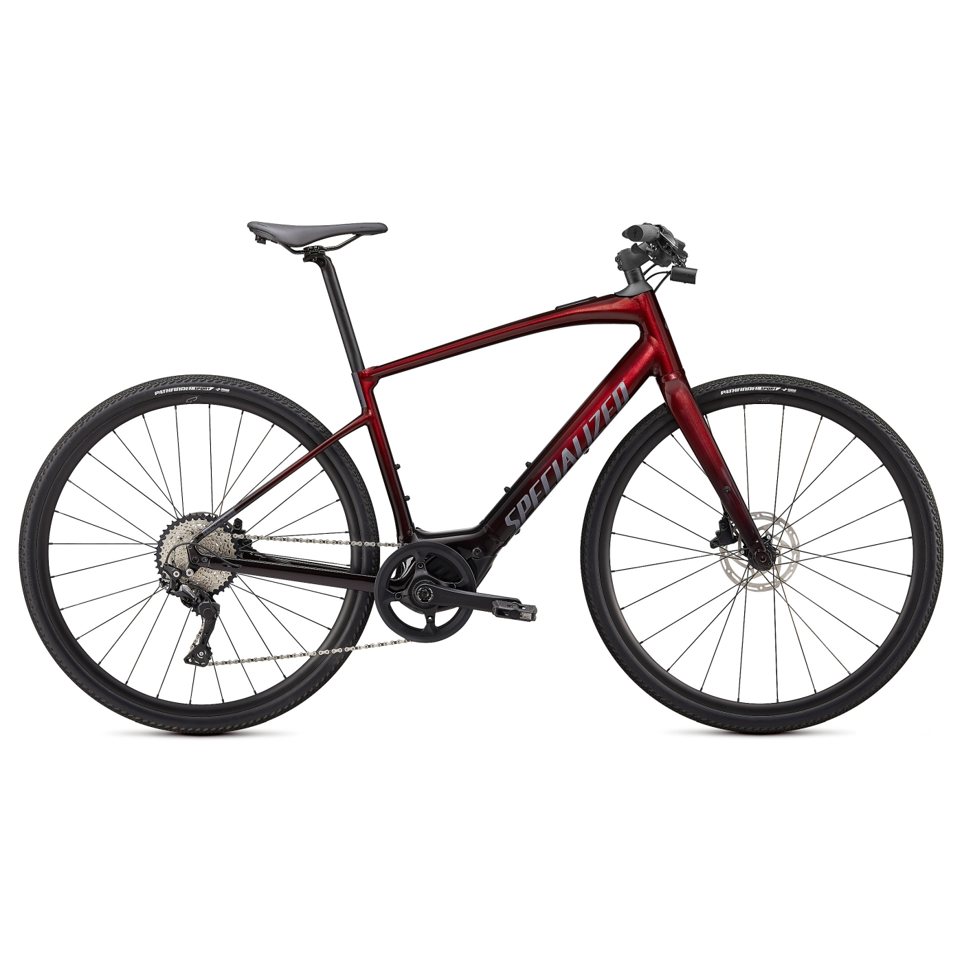 Produktbild von Specialized TURBO VADO SL 4.0 E-Bike - 2021 - crimson red tint/black