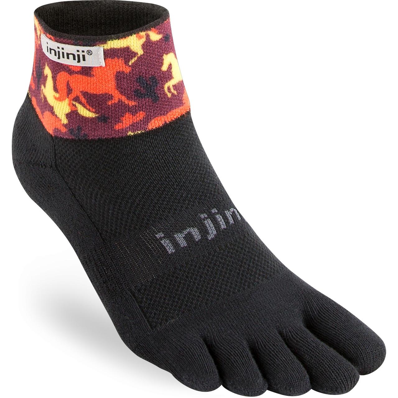 Produktbild von Injinji Spectrum Trail Midweight Mini Crew Coolmax® Xtralife Socken - west