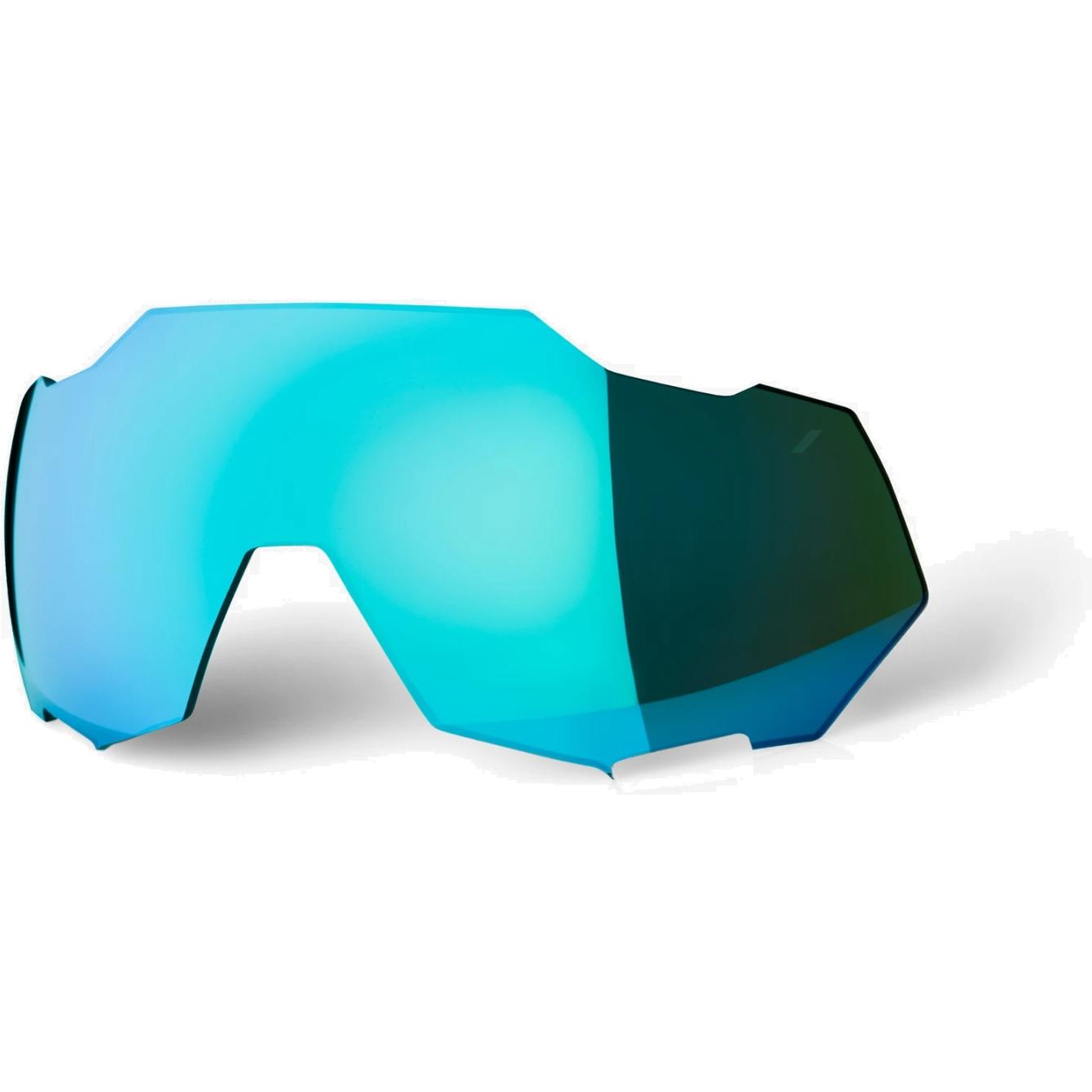 100% Speedtrap Mirror Lente de repuesto - Blue Topaz Mirror
