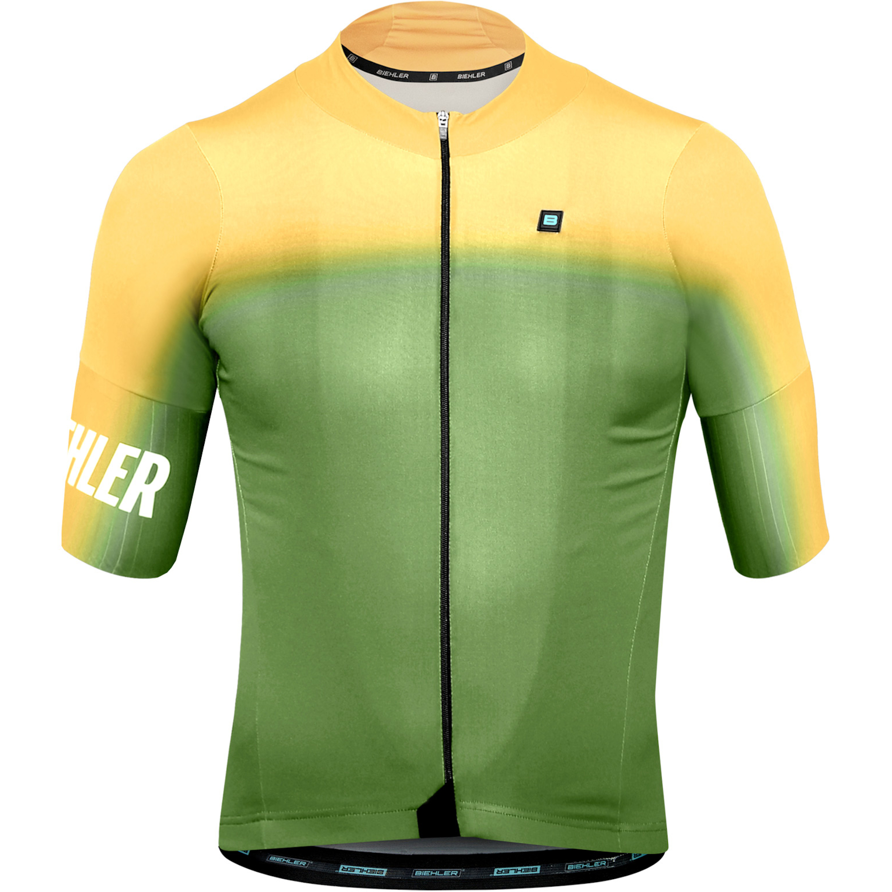 Biehler Men Essential Cycling Jersey - mild yellow