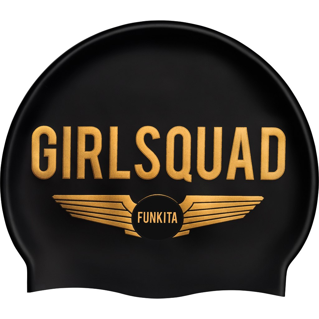 Funkita Silicone Swimming Cap - Girl Squad