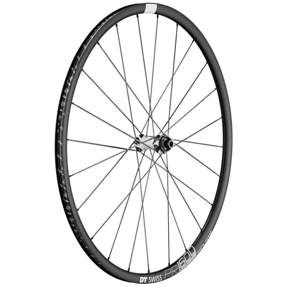 DT Swiss PR 1600 SPLINE db 23 - Front Wheel - Clincher - Centerlock / IS - 12x100mm / 15x100mm / QR