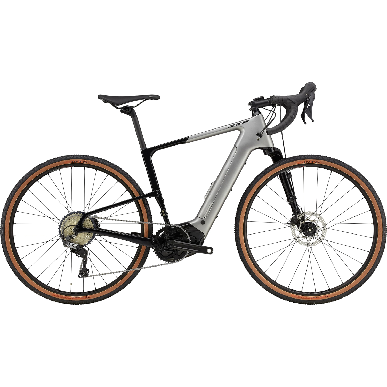 Cannondale TOPSTONE NEO Carbon Lefty 3 -  Shimano GRX - 650B Gravel E-Bike - 2021 - Grey